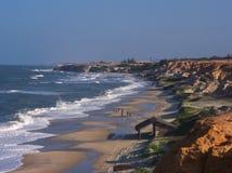 La spiaggia di Diogo immagine stock