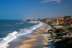 La spiaggia di Diogo immagini stock libere da diritti