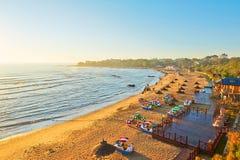La spiaggia di gloden Fotografie Stock