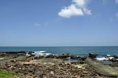 La spiaggia di Kenting Fotografie Stock