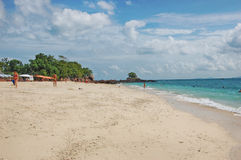 La spiaggia di Khai Nai Island Thailand si rilassa Fotografia Stock Libera da Diritti
