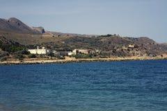 La spiaggia di Kolymvari Immagine Stock Libera da Diritti