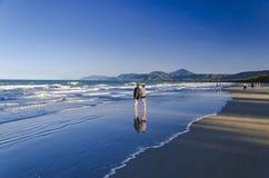La spiaggia di Port Douglas Fotografia Stock