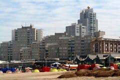 La spiaggia di Scheveningen Fotografie Stock