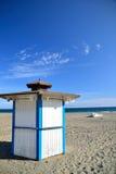 La spiaggia estepona Immagini Stock