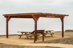 La spiaggia ha adattato 2 Fotografia Stock Libera da Diritti