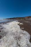 La spiaggia la California del rodeo oscilla le onde e la sabbia Immagine Stock Libera da Diritti