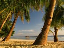 La spiaggia perfetta appena per voi Immagine Stock Libera da Diritti