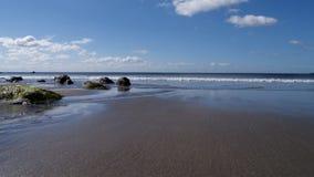 La spiaggia a primavera Fotografie Stock