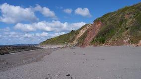La spiaggia a primavera Immagini Stock Libere da Diritti
