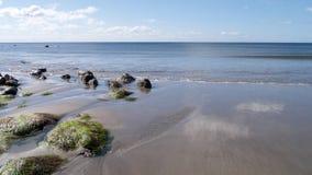 La spiaggia a primavera Immagine Stock Libera da Diritti