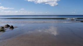 La spiaggia a primavera Fotografia Stock Libera da Diritti