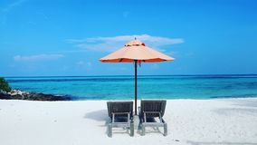 La spiaggia, si rilassa, isola, viaggio Fotografie Stock