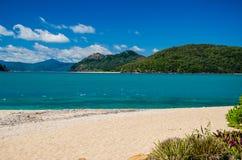 La spiaggia sopra fantastica l'isola Immagini Stock Libere da Diritti
