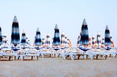 La spiaggia sul Mar Nero in Bulgaria Immagini Stock Libere da Diritti
