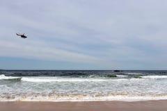 La spiaggia a Vina del Mar Immagine Stock Libera da Diritti