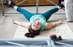 La spina dorsale per correggere attrezzatura per allungare Immagini Stock