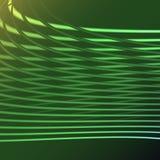 La spirale électrique de belle énergie magique abstraite verte a tordu les trellis cosmiques du feu des lignes, bandes, bâtons, b illustration stock