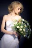 La sposa Fotografia Stock