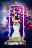 La sposa di fioritura immagini stock