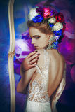 La sposa di fioritura fotografia stock
