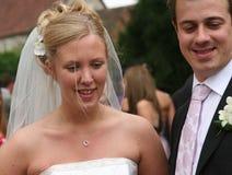 La sposa e lo sposo 5 Fotografie Stock Libere da Diritti