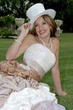 La sposa si siede fotografia stock libera da diritti