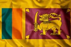 La Sri Lanka illustrazione di stock