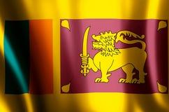 La Sri Lanka illustrazione vettoriale