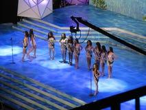 La Srta. 2014 Earth Philippines Pageant imagenes de archivo