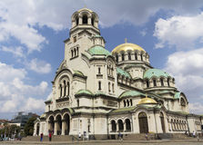 La st Alexander Nevsky Cathedral Fotografia Stock Libera da Diritti