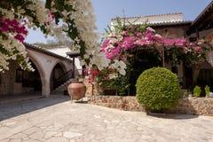 La st cipriota Thecla del monastero Fotografia Stock