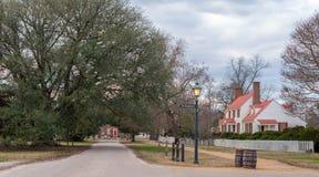 La st George Tucker House, Williamsburg, VA fotografie stock