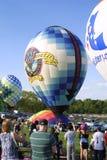 La st Louis Balloon Race 2018 di grande immagine stock