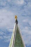 La st segna la cima della torre Fotografie Stock Libere da Diritti