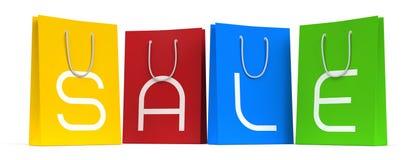 La stagione di vendita è aperta! :) illustrazione vettoriale