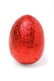 La stagnola ha coperto l'uovo Immagini Stock Libere da Diritti