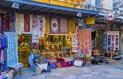 La stalla del mercato Fotografia Stock