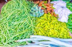 La stalla di verdure nello Sri Lanka Fotografia Stock