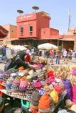 La stalle de chapeau Photo libre de droits