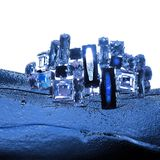 La stampa dei gioielli fotografia stock