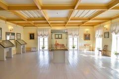 La stanza con la disposizione della costruzione al palazzo del priore dentro Fotografia Stock