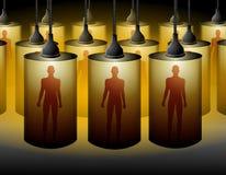 La stanza in cui clonano gli esseri umani Immagini Stock Libere da Diritti
