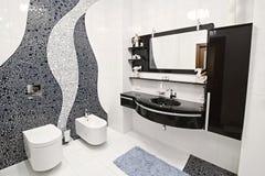 La stanza da bagno fotografie stock