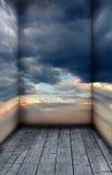La stanza del cielo Immagini Stock Libere da Diritti