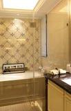 La stanza di esempio del bagno nell'appartamento Fotografia Stock Libera da Diritti