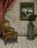 La stanza di lettura delle streghe Fotografia Stock