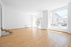 La stanza vuota, compera interno con la finestra di acquisto Fotografie Stock