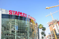 LA Staples Center stock image