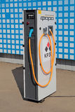 La station de charge électrique Image libre de droits